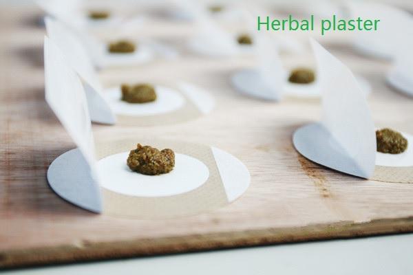 Herbal plaster